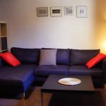 Chaisse-longue en el salón